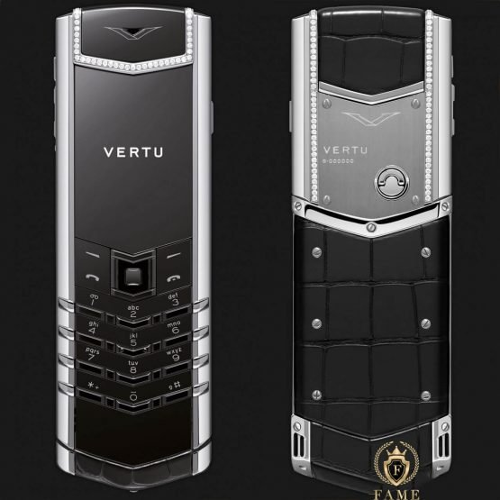 Vertu Signature S Alligator Skin Diamonds Mới Full Box