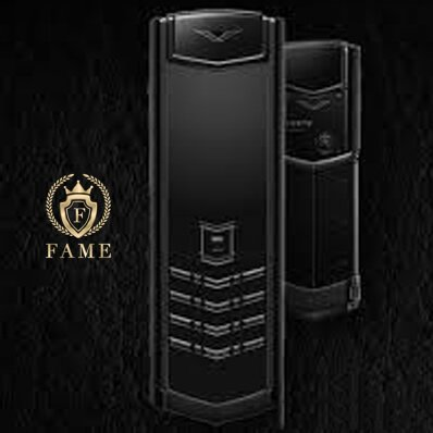 Vertu Signature Black DLC Stainless Ceramic Full Box