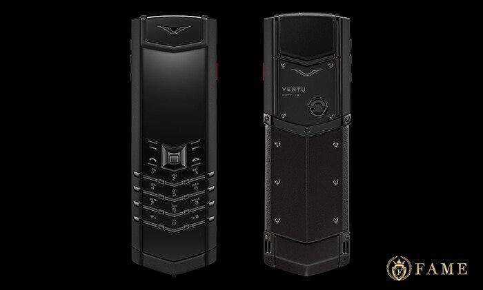 Điện thoại vertu signature pure black