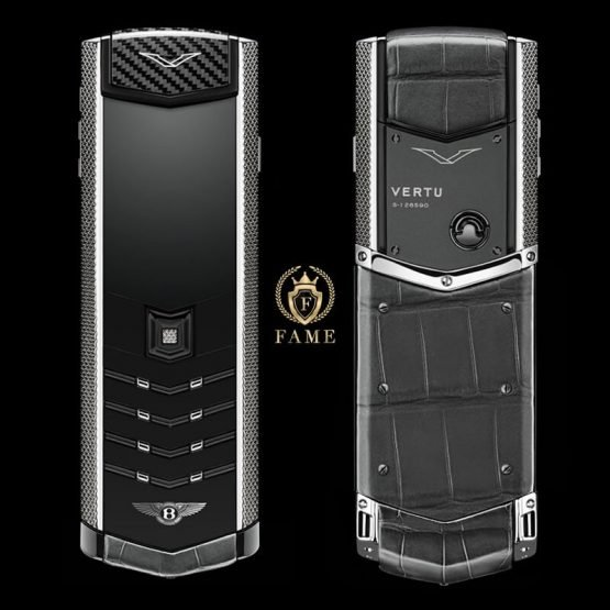Vertu Signature For Bentley Silver Alligator
