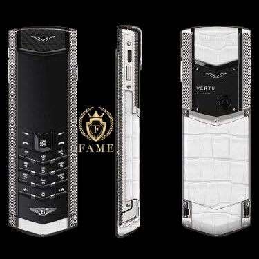 Vertu Signature For Bentley White Alligator
