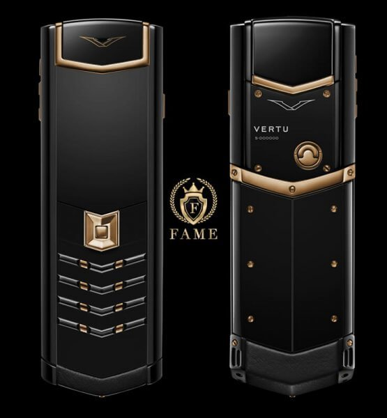 Vertu Signature S Red Gold Black DLC Mới Full Box