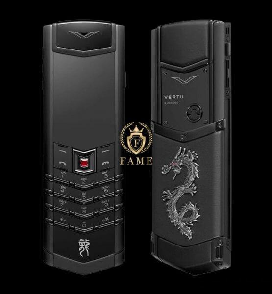 Vertu Signature Black Dragon Mới Fullbox