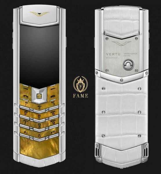 Vertu Signature White Mother of Pearl 2016