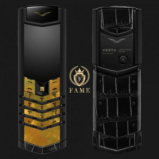Vertu Signature S Design LMOP Male Mới Full Box