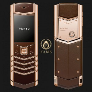 Vertu Signature S Pure Chocolate Red Gold Mới Full Box