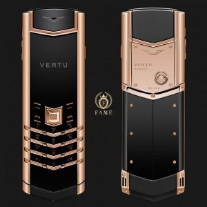 Vertu Signature S Design Red Gold Mới Full Box