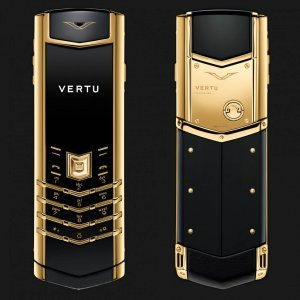Vertu Signature S Design Yellow Gold Mới Full Box