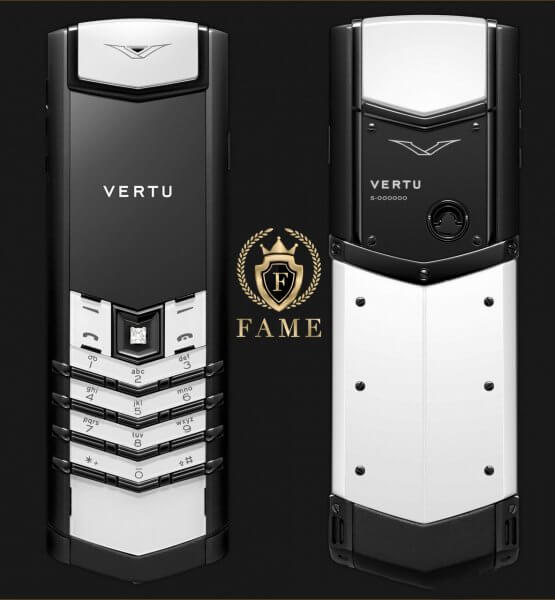 Vertu Signature S Black and White Mới Full Box