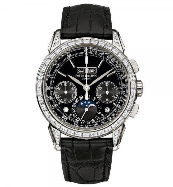 Patek Philippe Grand Complications Platinum and Baguette Diamonds 5271P-001