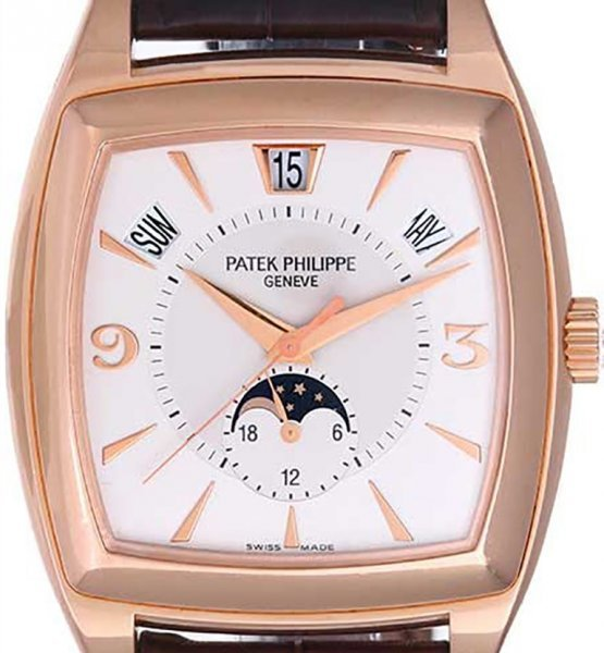 Patek Philippe Gondolo Calendario Annual Calendar Rose Gold 5135R