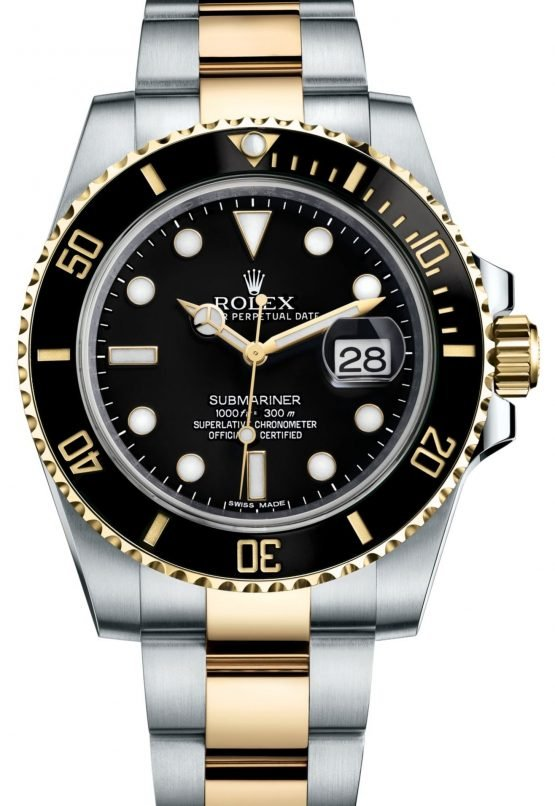 Rolex Oyster Perpetual Submariner Date Rolesor 116613LN