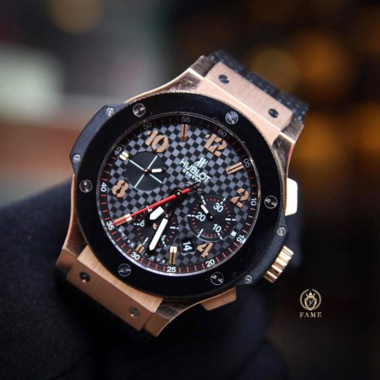 Hublot BigBang Chronograph 18k Rose Gold 44mm Dùng Lướt