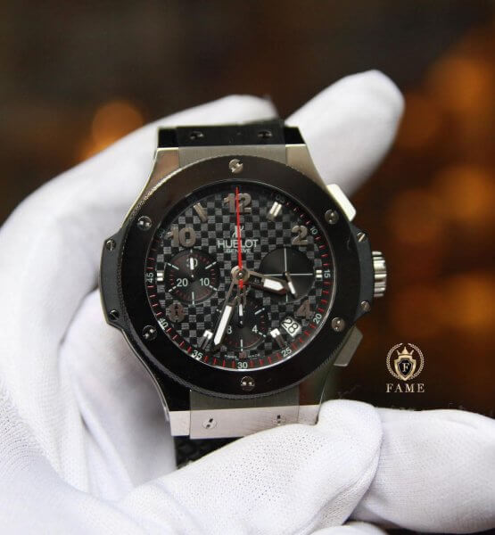 Hublot BigBang Stainless Ceramic Carbon 41mm