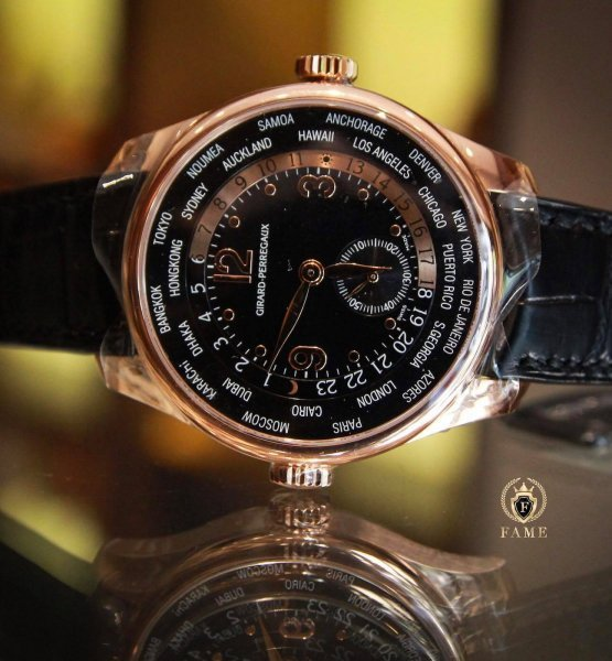 Girard Perregaux WW.TC Small Seconds 18K Rose Gold