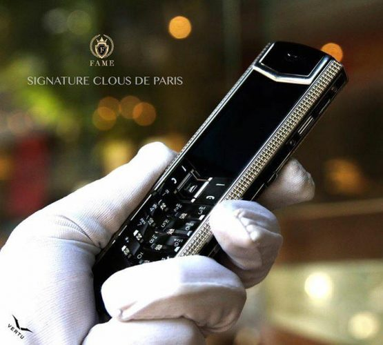 VERTU SIGNATURE S CLOUSDEPARIS STAINLESS STEEL Dùng Lướt
