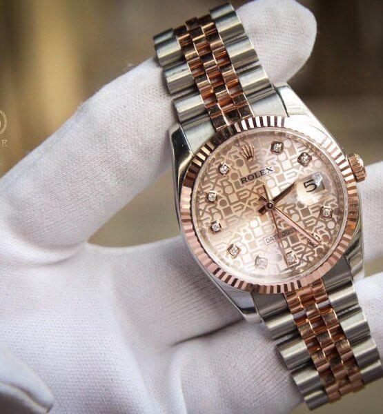 Rolex Date Just 116231 Dùng Lướt