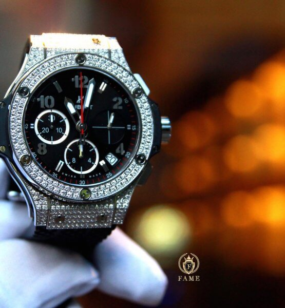 Hublot Bigbang Steel Ceramic Diamond 41mm