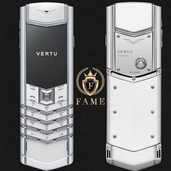 Vertu Signature S Design White Ceramic Mới Full Box