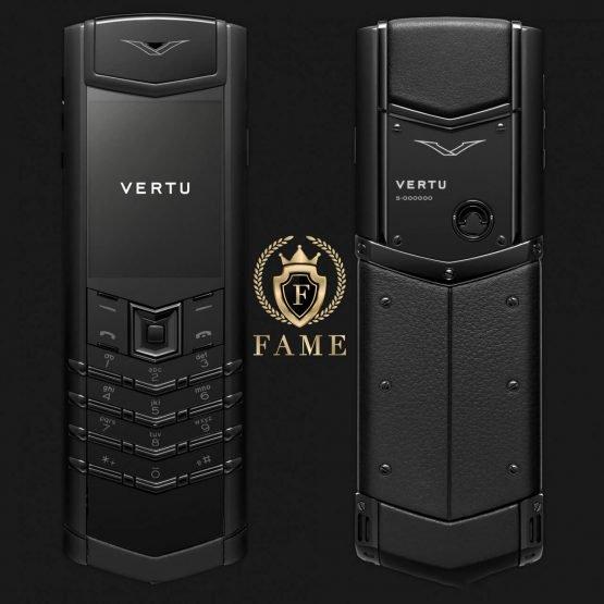 Vertu Signature S Pure Black Mới Full Box