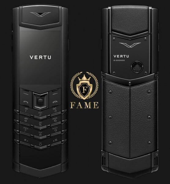 Vertu Signature S Pure Black Mới Full Box
