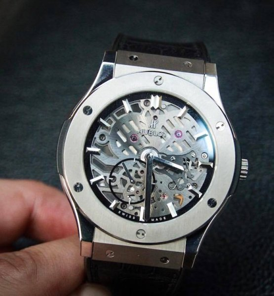 Hublot Classic Fusion Ultra-Thin Skeleton Dial 45mm Dùng Lướt
