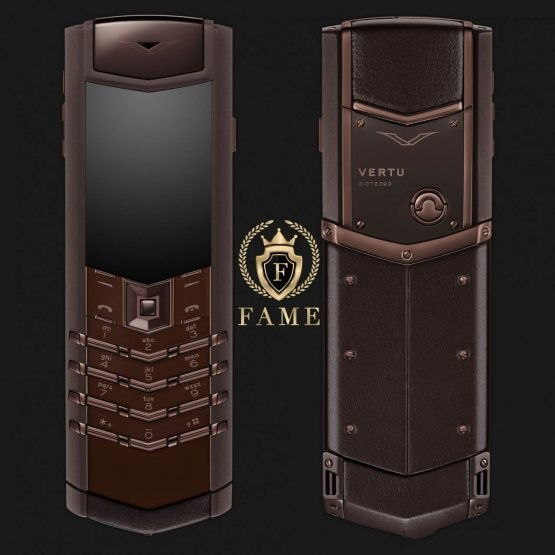 Vertu Signature S Design Pure Chocolate Mới Full Box