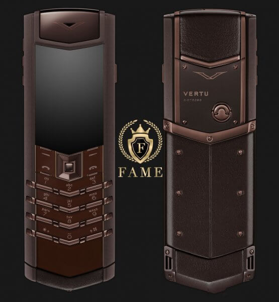 Vertu Signature S Design Pure Chocolate Mới Full Box