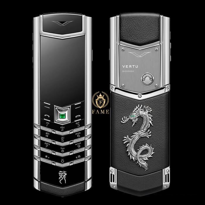 Vertu Signature Steel Dragon New FullBox