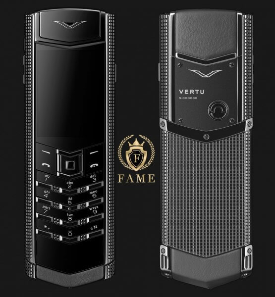 Vertu Signature S ClousDeParis Black Mới Full Box