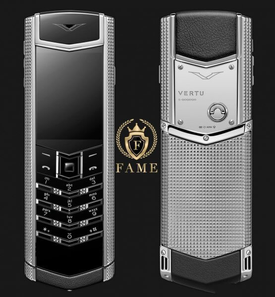 Vertu Signature S ClousdeParis Stainless Steel Mới Full Box