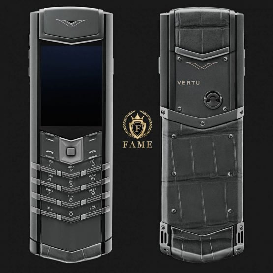 Vertu Signature S Design Ziconium Mới Full Box