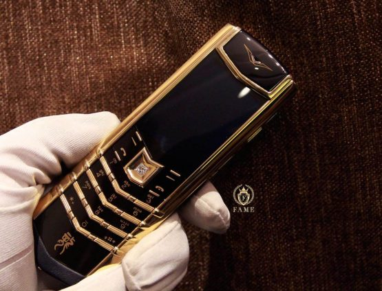 Vertu Signature S Dragon Yellow Gold Diamond Dùng Lướt