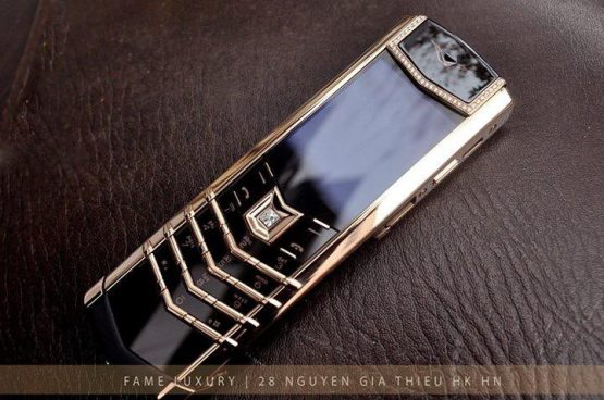 Vertu Signature Rose Gold Diamonds Dùng Lướt
