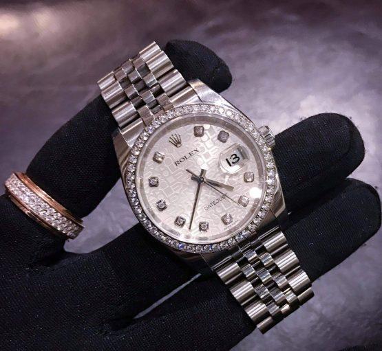 ROLEX 116244 DIAMONDS DÙNG LƯỚT