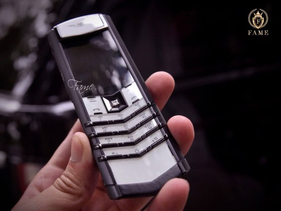 Vertu SignatureS Black and White Diamonds Dùng Lướt