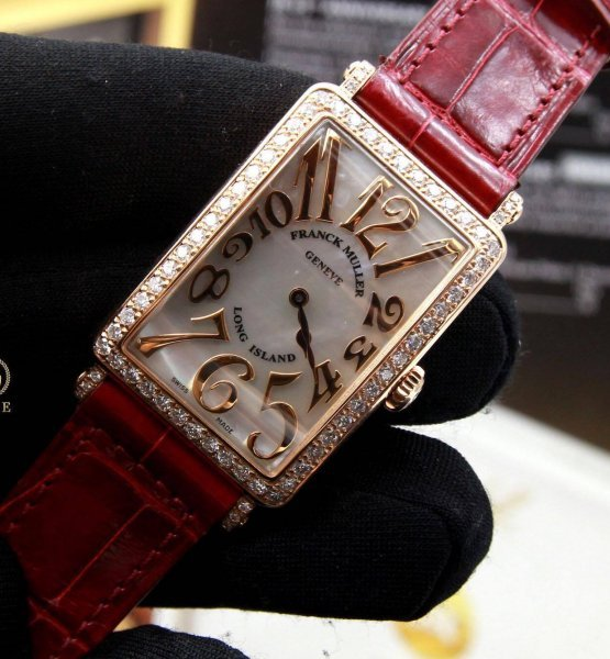 Franck Muller LongIsland 952QZ Rose Gold Diamond