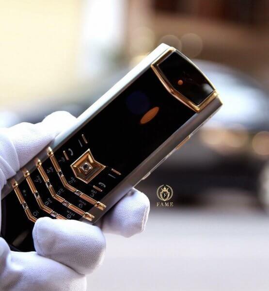 Vertu Signature Mixer Gold Dùng Lướt