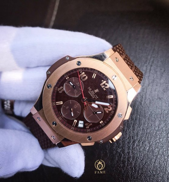 Hublot BigBang KingGold Chocolate 41mm Dùng Lướt
