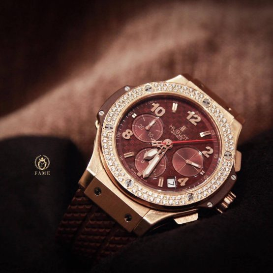 Hublot BigBang Capuccino Diamonds 41mm Dùng Lướt