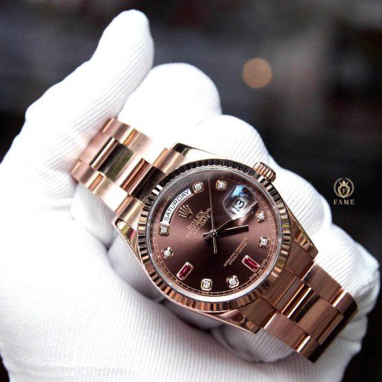 Rolex Day Date 118235 Dùng Lướt