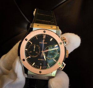 Hublot Classic Fusion Chronograph Mixer Gold 45mm