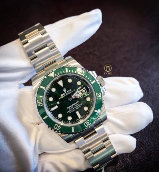 ROLEX Submariner Stainless Steel Green 40mm