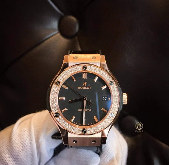 Hublot Classic Fusion Kinggold Diamond 38mm