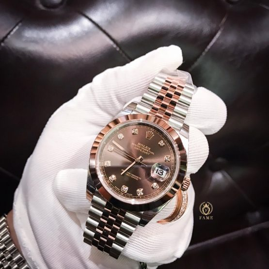 Rolex Date Just 126301 Chocolate 41mm