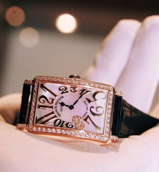 FRANCK MULLER Long Island 952QZ GOLD DIAMONDS