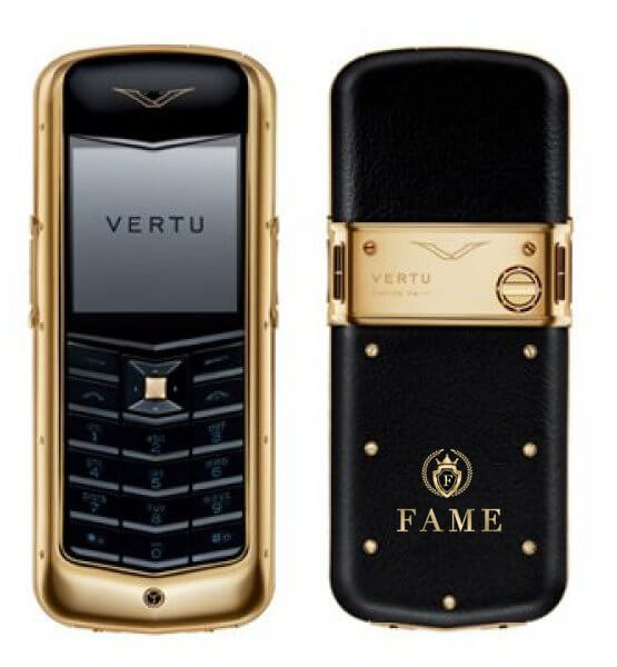Vertu constellation yellow gold fame