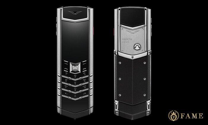 Điện thoại vertu signature s stainless steel