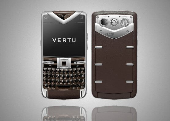 Vertu Quest Brown Leather