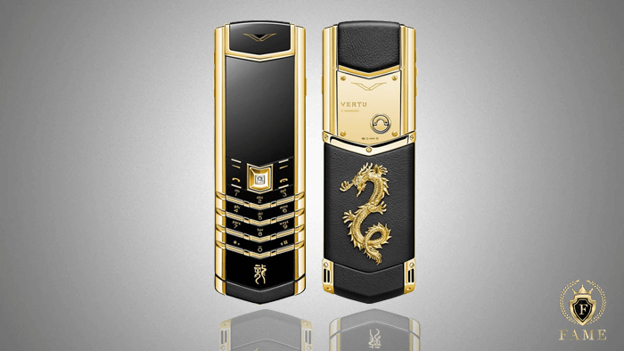 Vertu Signature S Gold Dragon